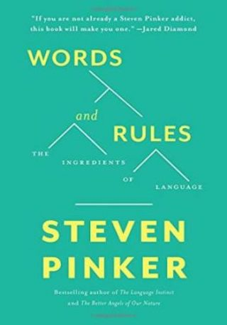 Words and Rules- The Ingredients Of Language