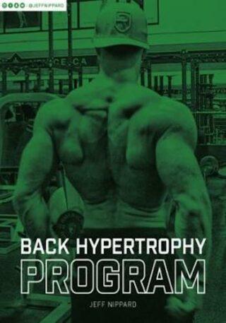 Back Hypertrophy Program